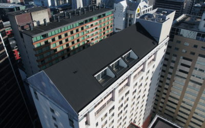 Crowne Plaza | Membrane Roof Overlay