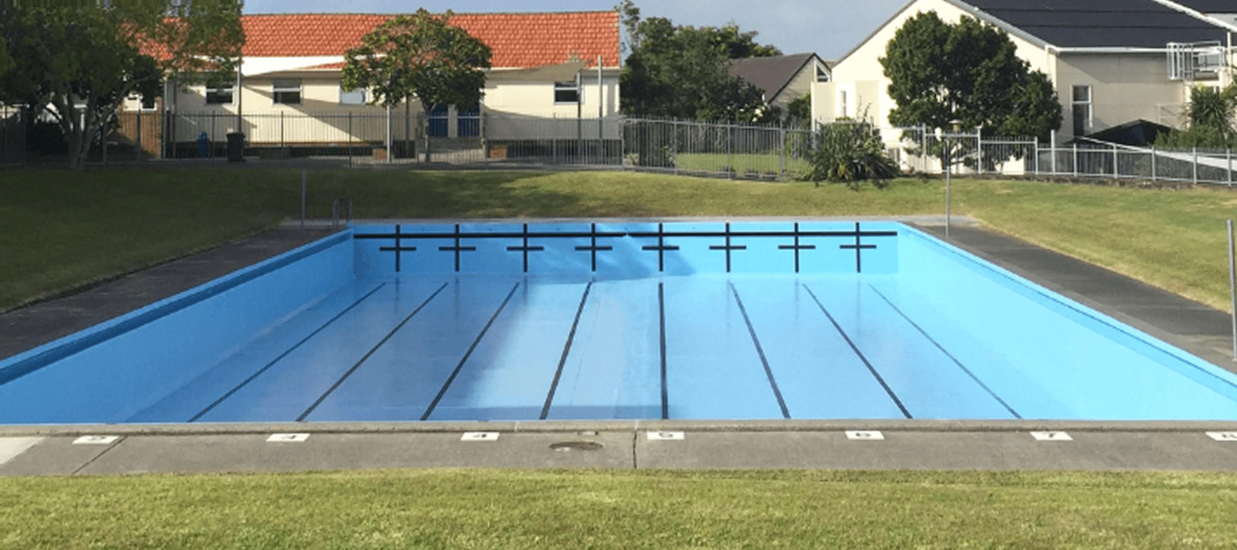 Recoating Swimming Pools